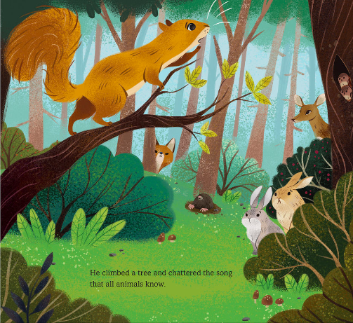 celebrate-picture-books-picture-book-review-time-to-roar-squirrel