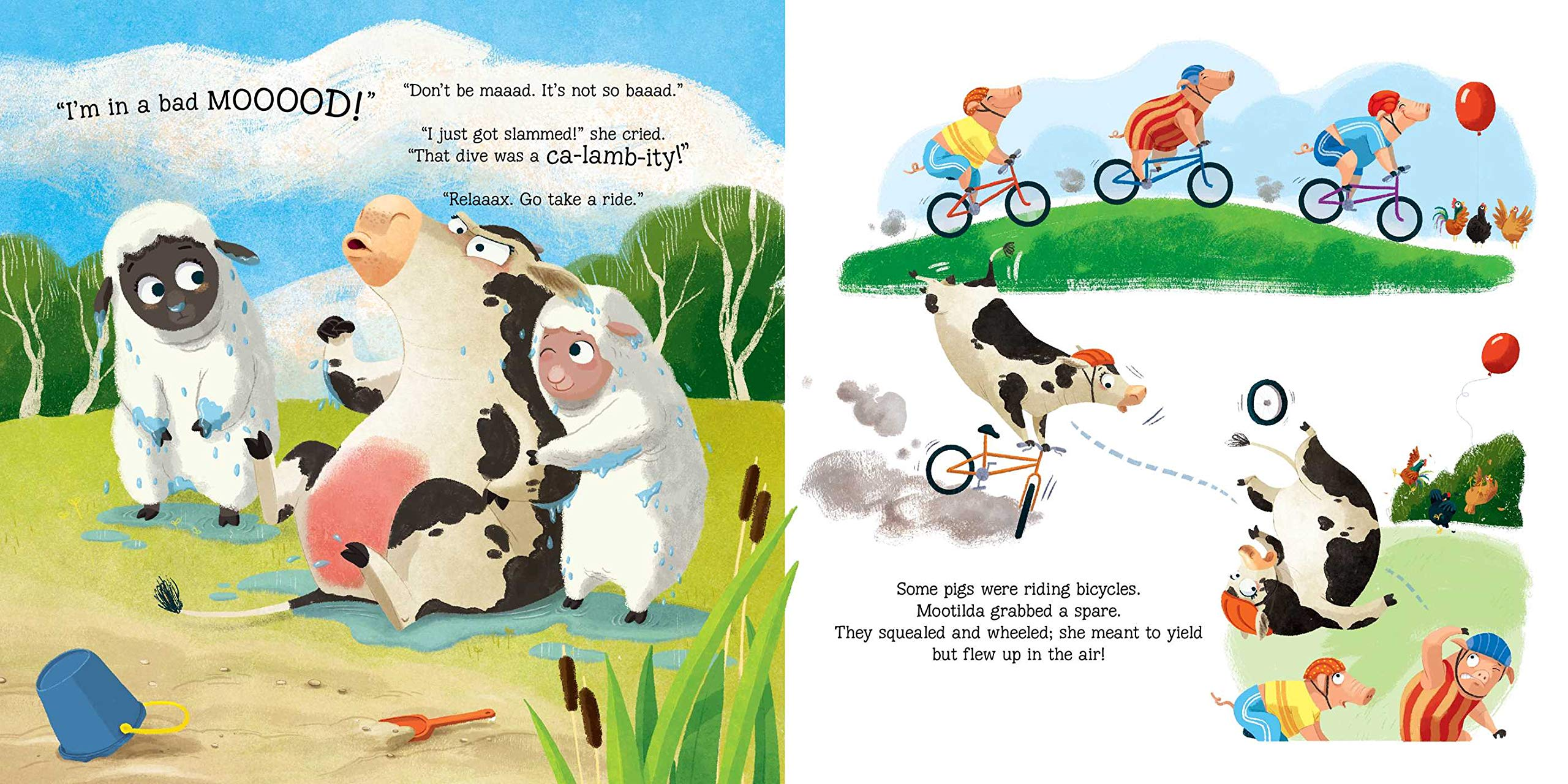 celebrate-picture-books-picture-book-review-mootilda's-bad-mood-biking
