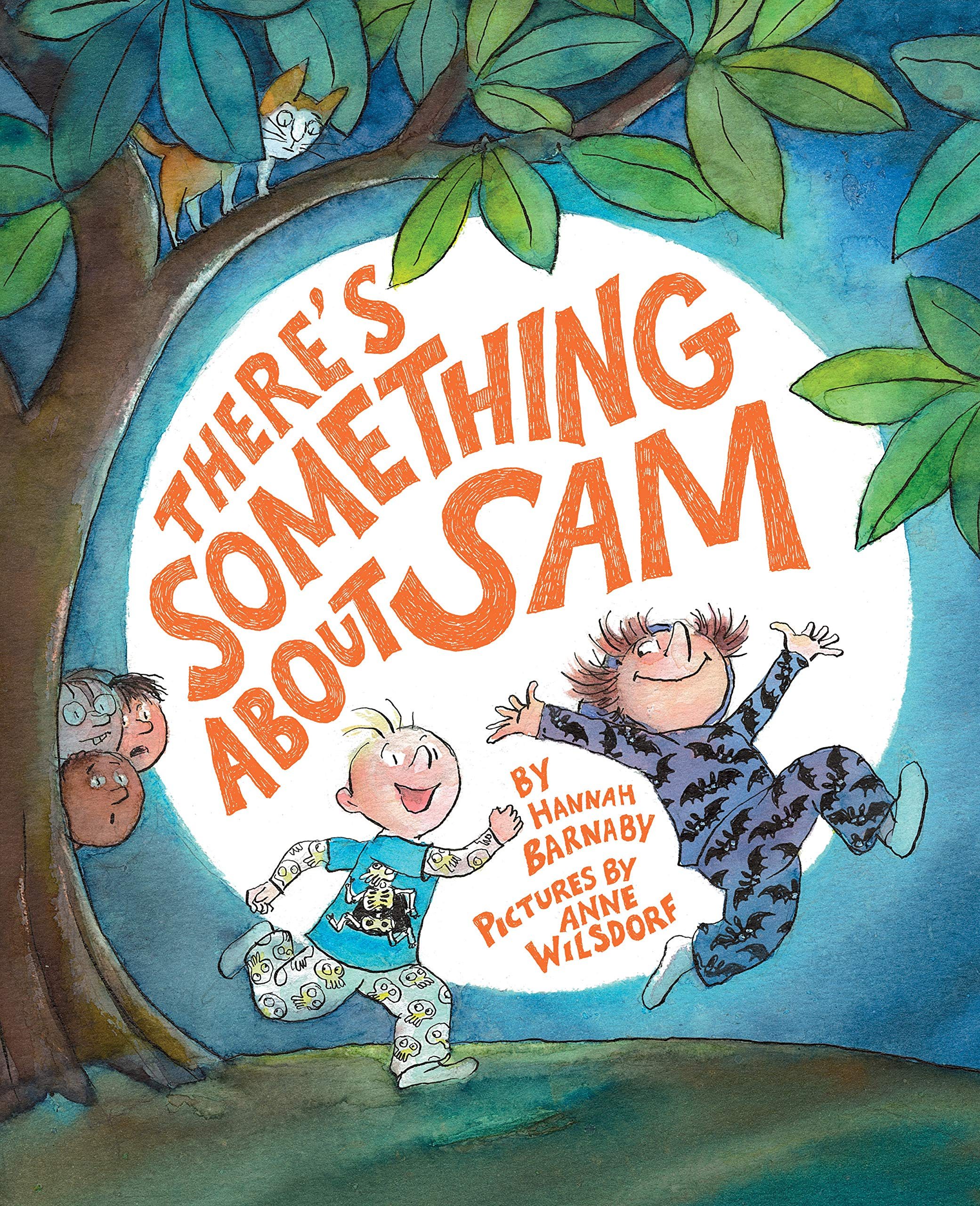 celebrate-picture-books-picture-book-review-there's-something-about-sam-cover
