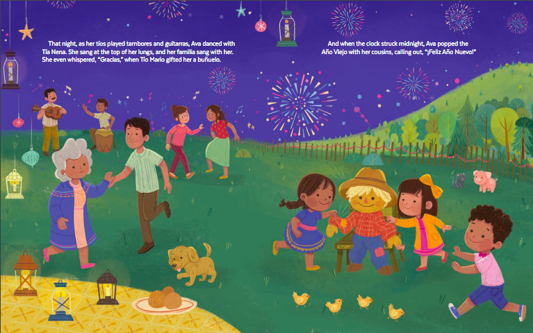celebrate-picture-books-picture-book-review-feliz-new-year-ava-gabriela-new-years-eve