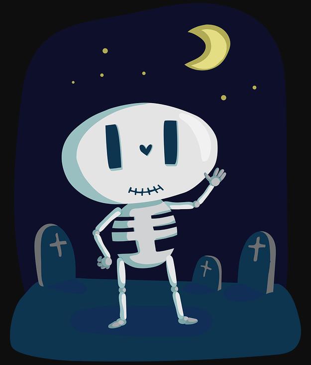Halloweensie Contest Skeleton Image