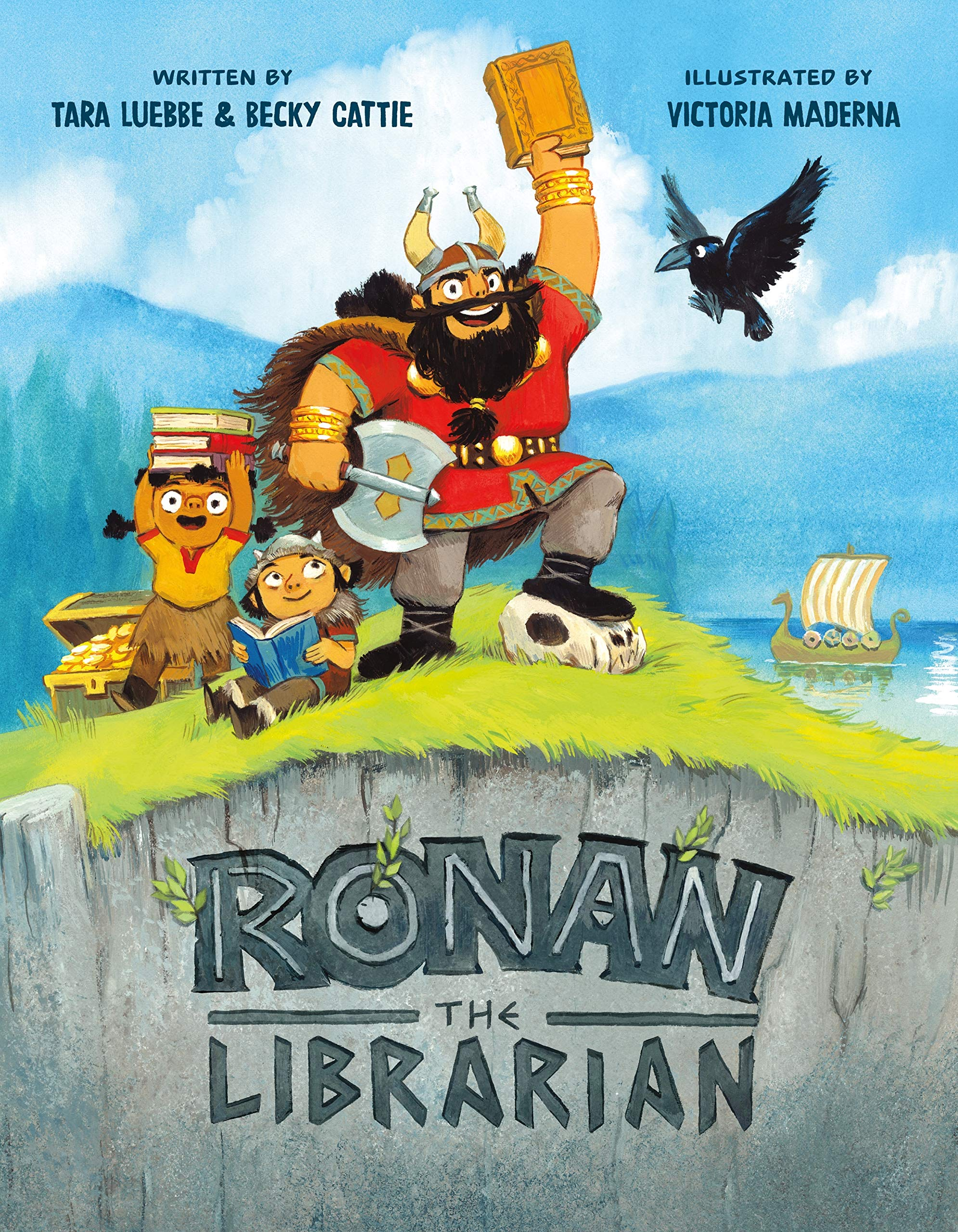 celebrate-picture-books-picture-book-review-ronan-the-librarian-cover