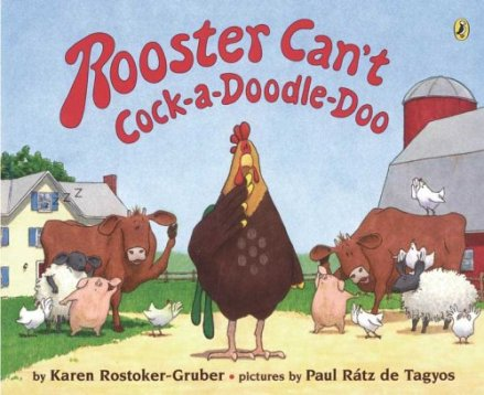 celebrate-picture-books-picture-book-review-rooster-can't-cockadoodledoo-cover