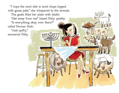 celebrate-picture-books-picture-book-review-farmer-kobi's-hanukkah-match-lamb-chops-topped-with-goose-pate
