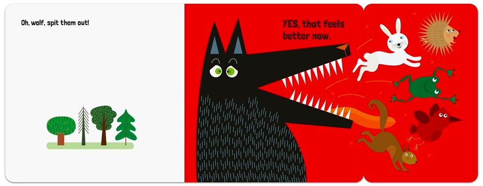celebrate-picture-books-picture-book-review-a-very-hungry-wolf-spit-out