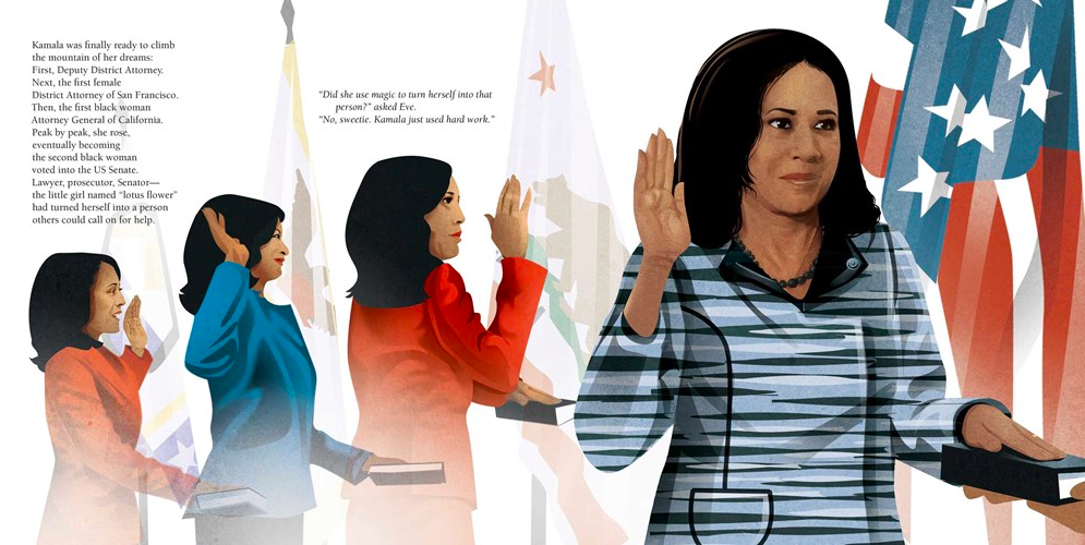 celebrate-picture-books-picture-book-review-kamala-harris-rooted-in-justice-oath
