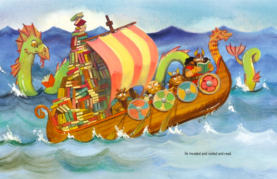 celebrate-picture-books-picture-book-review-ronan-the-librarian-sailing