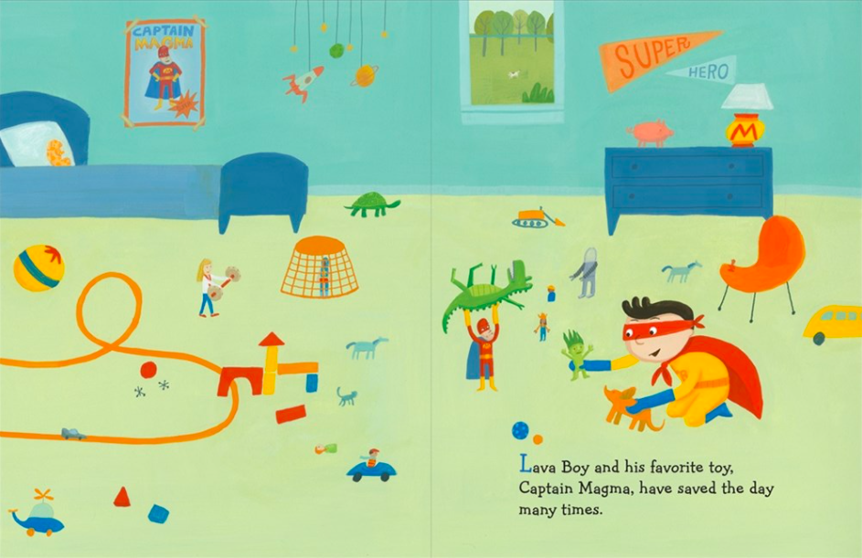 celebrate-picture-books-picture-book-review-ten-steps-to-flying-like-a-superhero-bedroom