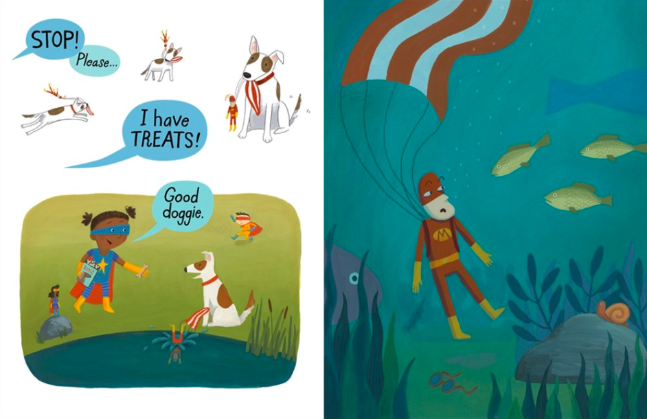 celebrate-picture-books-picture-book-review-ten-steps-to-flying-like-a-superhero-pond