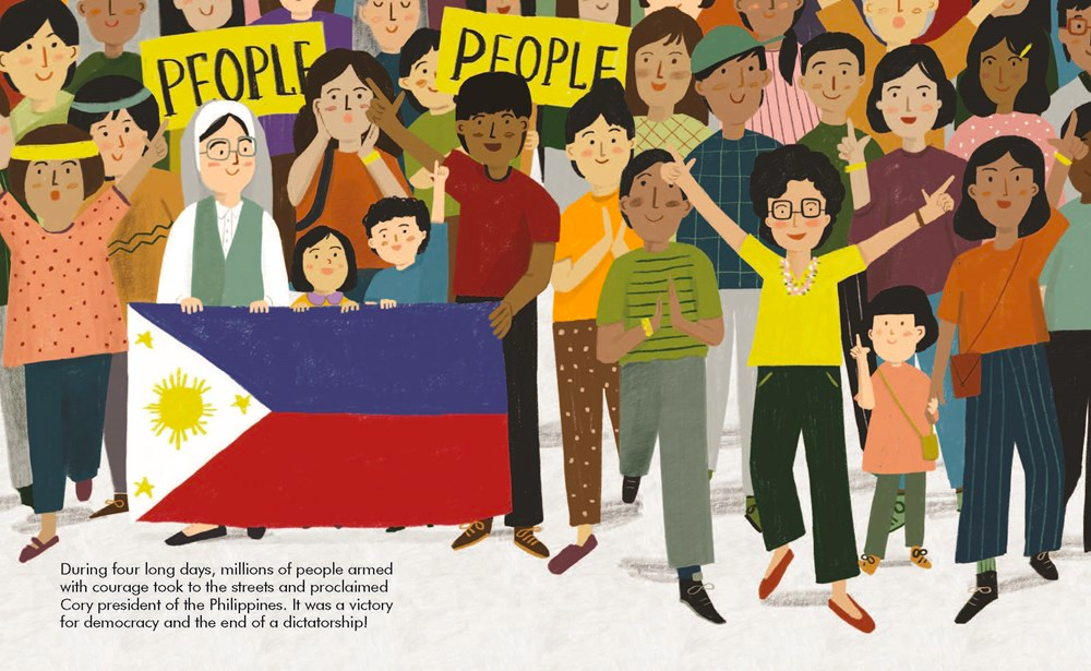 celebrate-picture-books-picture-book-review-corazon-aquino-little-people-big-dreams-election