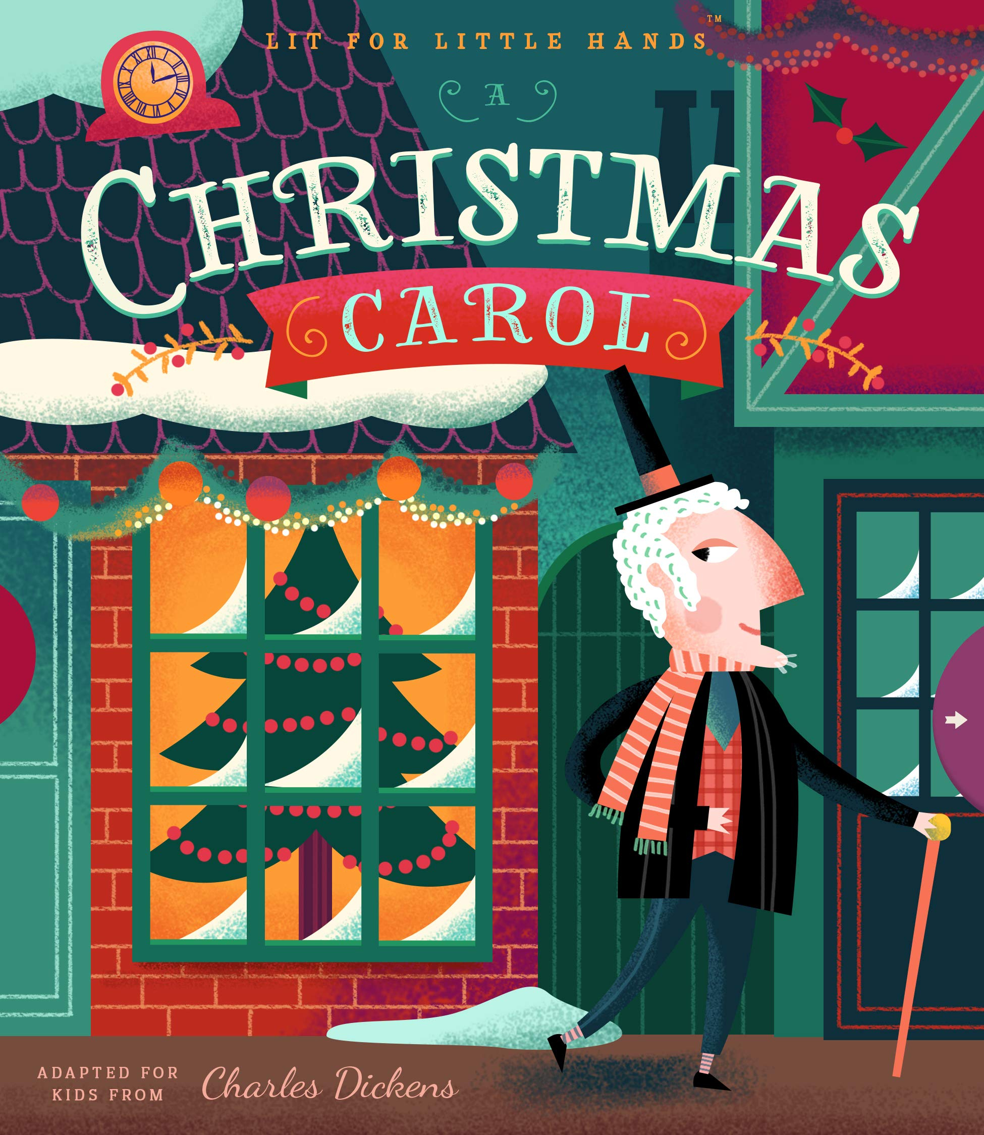 celebrate-picture-books-picture-book-review-a-christmas-carol-lit-for-little-hands-cover