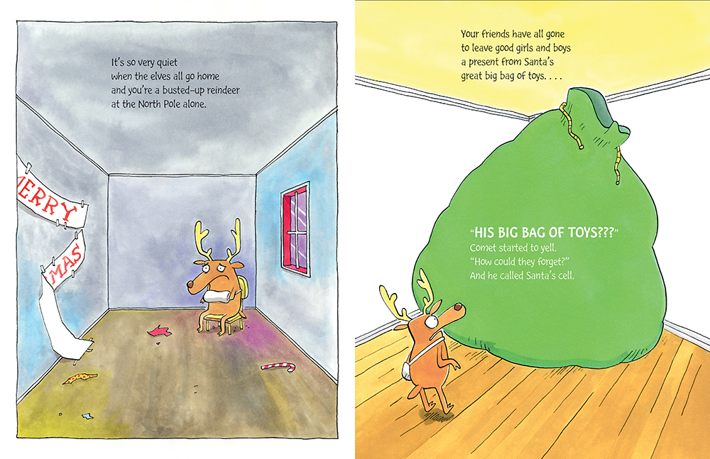 celebrate-picture-books-picture-book-review-comet-the-unstoppable-reindeer-toys-left