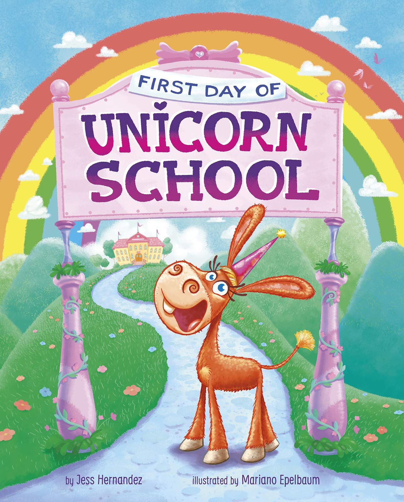 celebrate-picture-books-picture-book-review-first-day-of-unicorn-school-cover