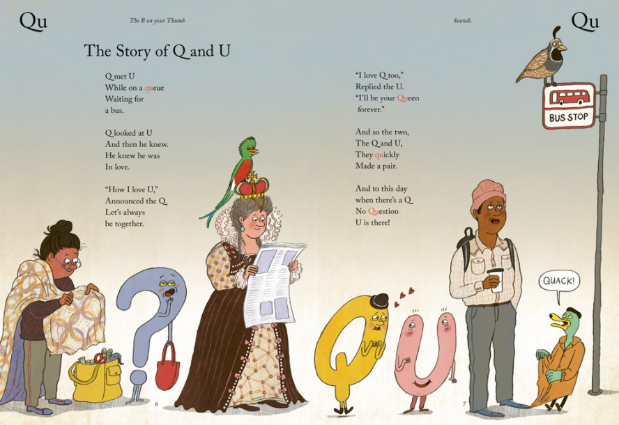 celebrate-picture-books-picture-book-review-the-B-on-your-thumb-queue