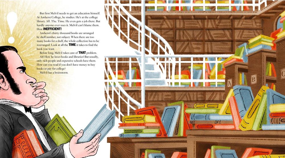 celebrate-picture-books-picture-book-review-melvil-dewey-disorganization