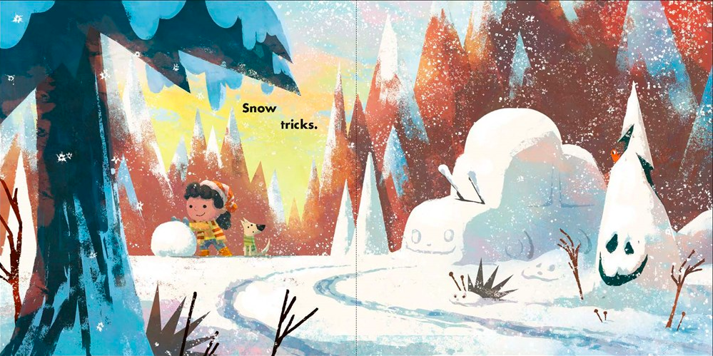celebrate-picture-books-picture-book-review-snow-falls-tricks