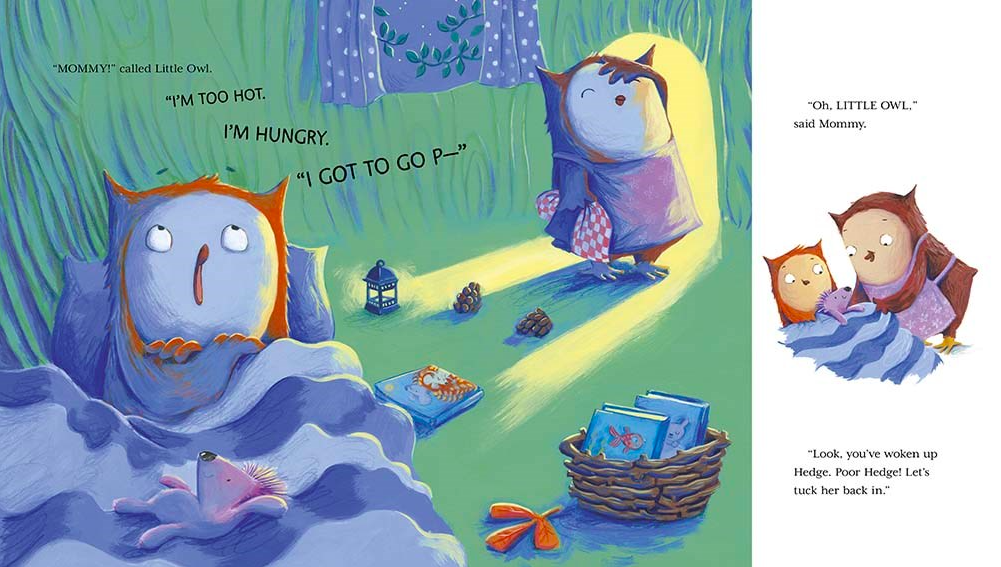 celebrate-picture-books-picture-book-review-little-owl's-bedtime-mommy