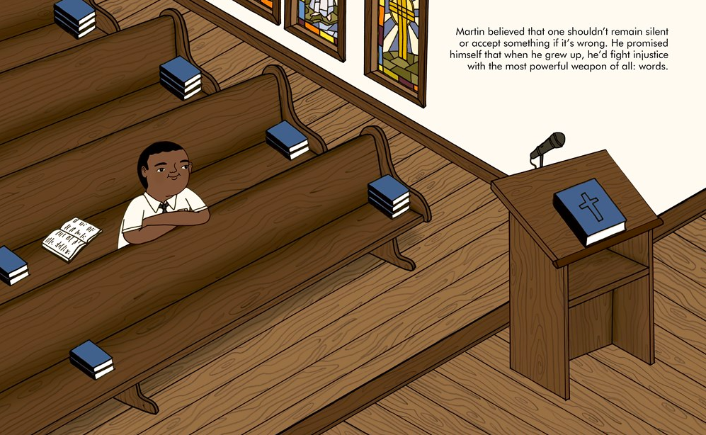 celebrate-picture-books-picture-book-review-martin-luther-king-jr.-church