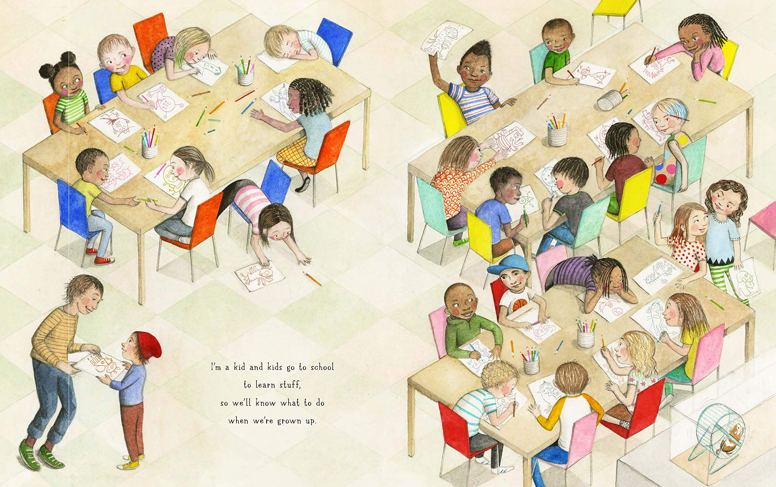 celebrate-picture-books-picture-book-review-if-you-come-to-earth-school