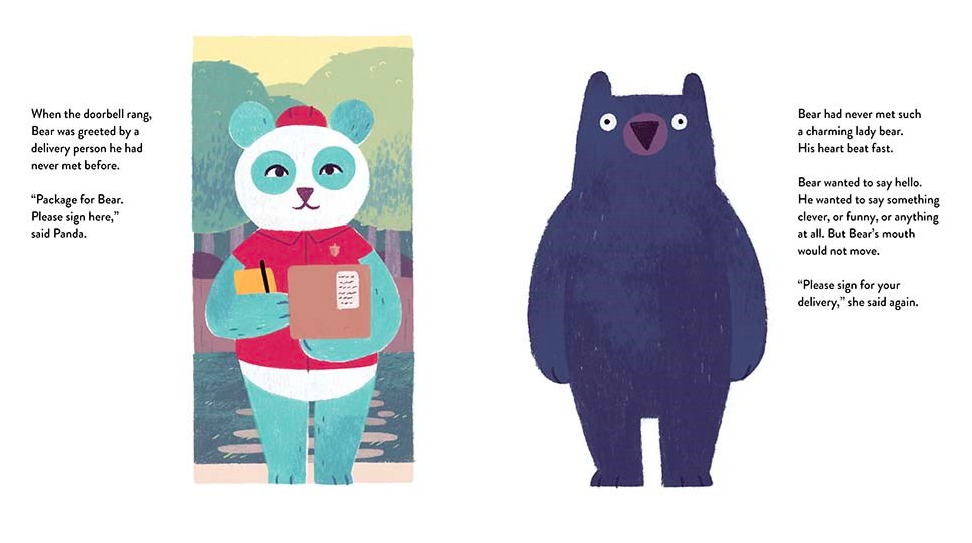 celebrate-picture-books-picture-book-review-bear-meets-bear-delivery