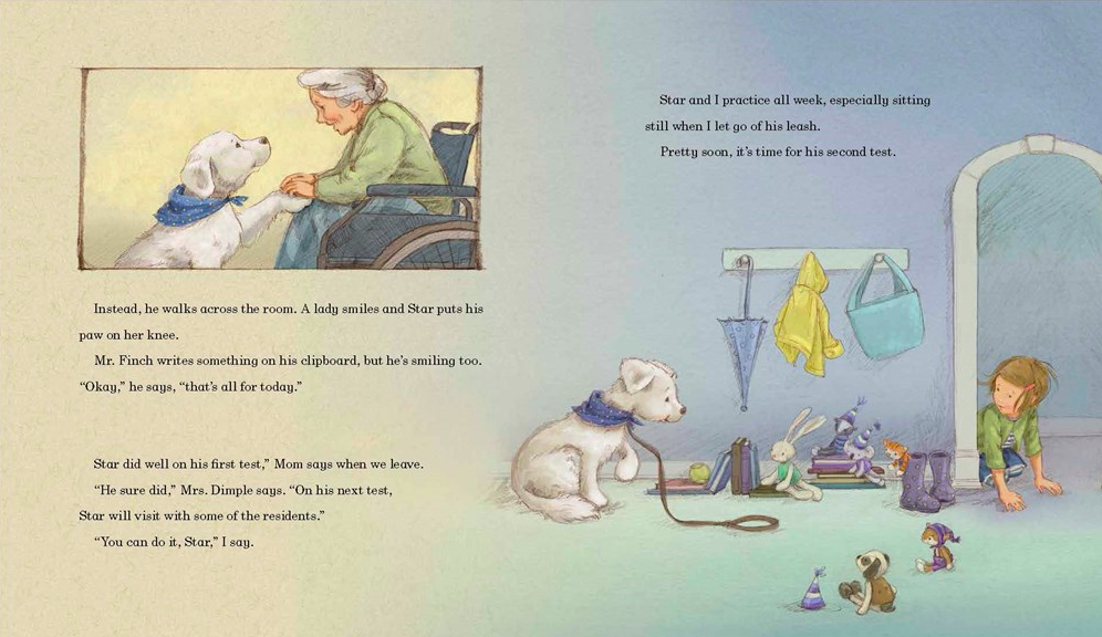 celebrate-picture-books-picture-book-review-madeline-finn-and-the-therapy-dog-first-test