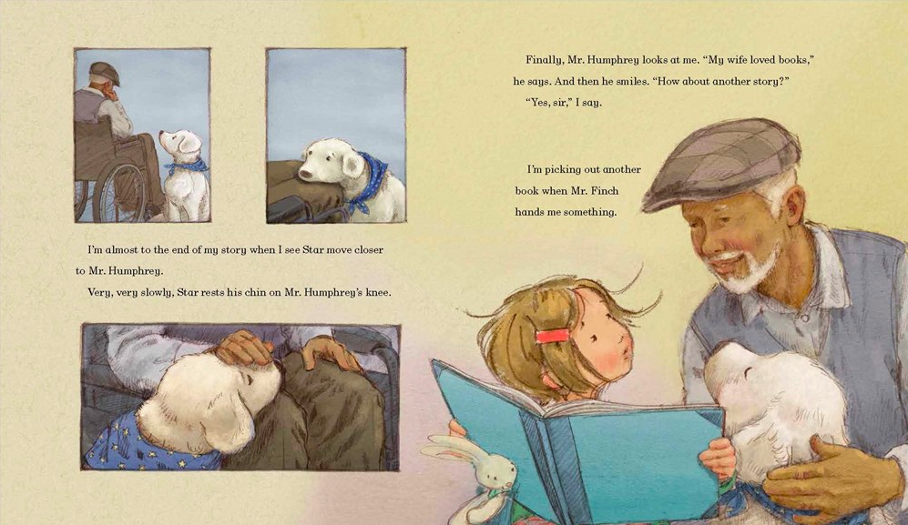 celebrate-picture-books-picture-book-review-madeline-finn-and-the-therapy-dog-mr-humphrey