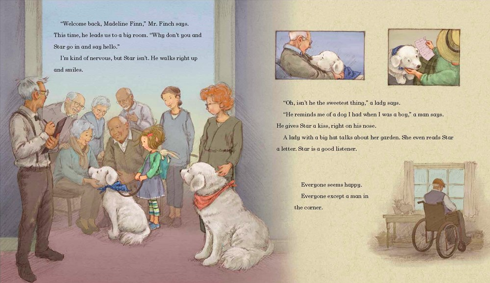 celebrate-picture-books-picture-book-review-madeline-finn-and-the-therapy-dog-mr-finch