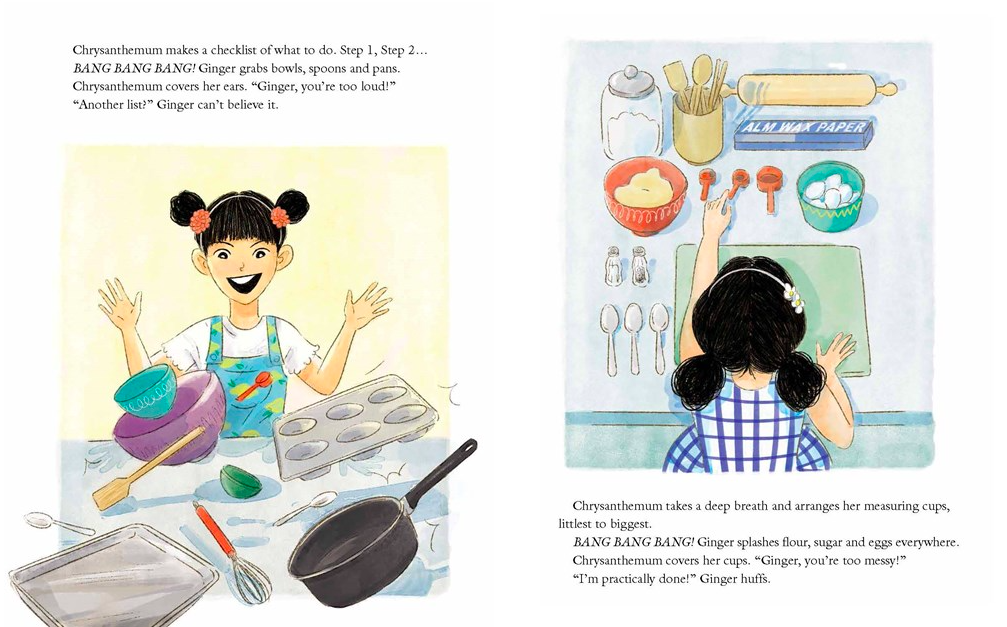 celebrate-picture-books-picture-book-review-ginger-and-chrysanthemum-utensils