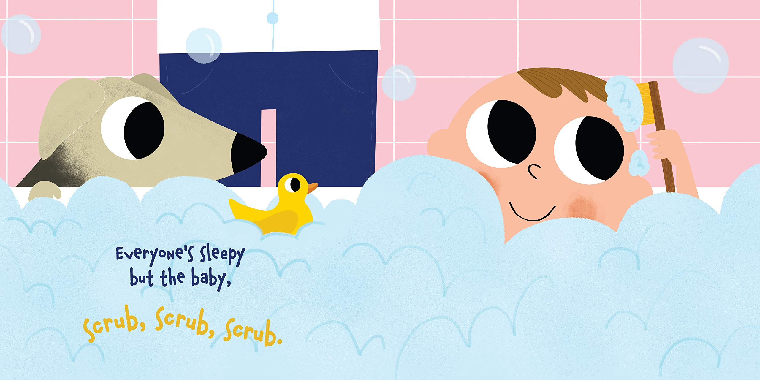celebrate-picture-books-picture-book-review-everyone's-sleepy-but-the-baby-bath