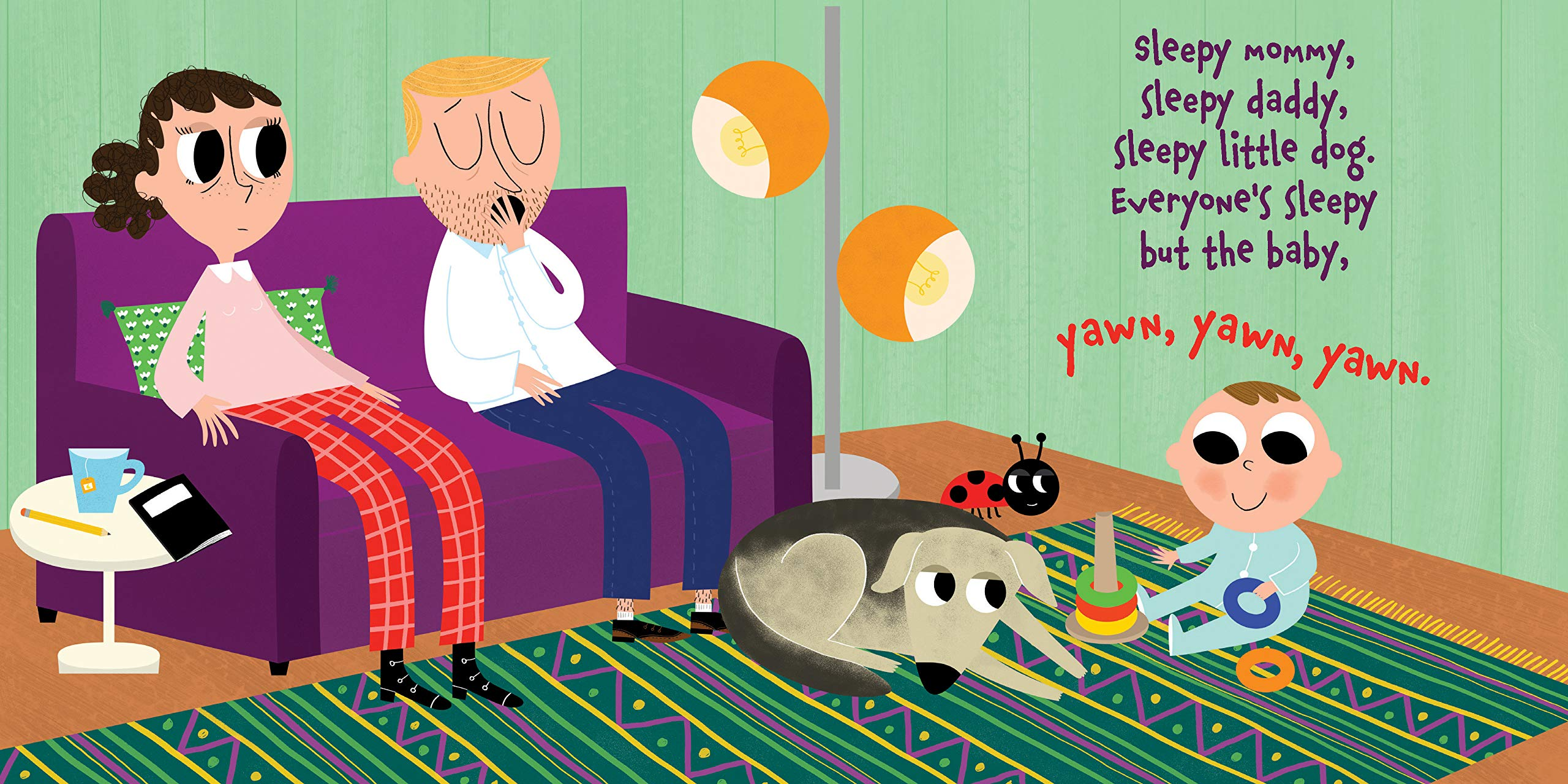 celebrate-picture-books-picture-book-review-everyone's-sleepy-but-the-baby-mom-and-dad