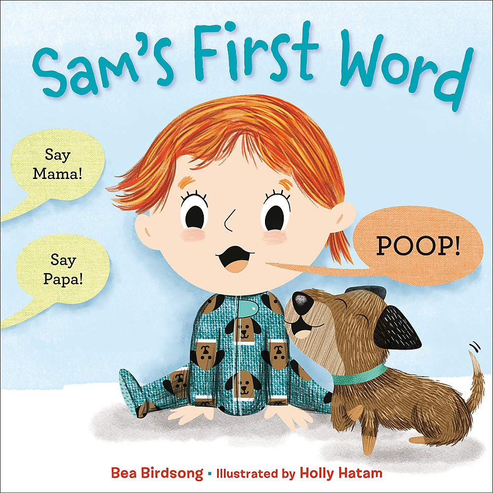 celebrate-picture-books-picture-book-review-sam's-first-word-cover