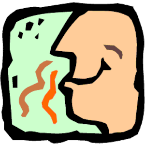 CPB - Nose Smelling Clipart