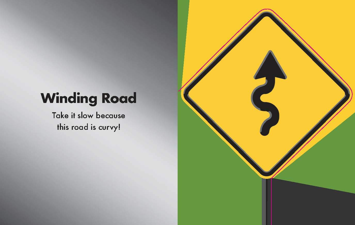 celebrate-picture-books-picture-book-review-caution-road-signs-ahead-winding-road