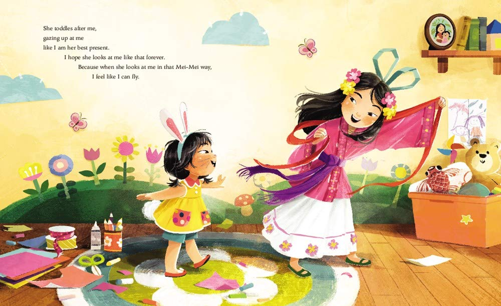 celebrate-picture-books-picture-book-review-eyes-that-kiss-in-the-corners-mei-mei