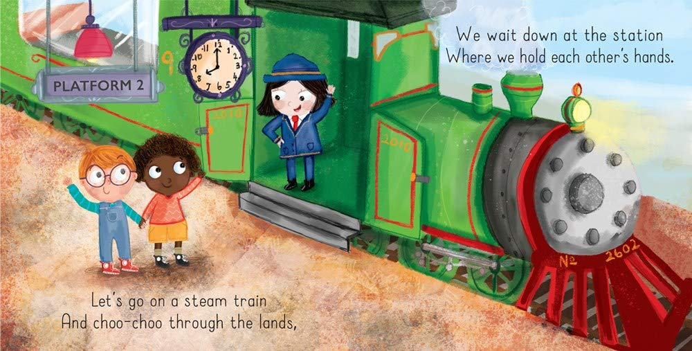 celebrate-picture-books-picture-book-review-let's-go-on-a-train-platform