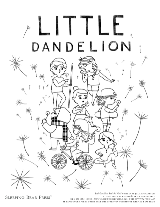 celebrate-picture-books-picture-book-review-little-dandelion-seeds-the-world-coloring-page