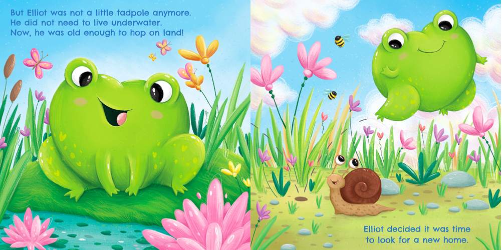 celebrate-picture-books-picture-book-review-elliot-the-heart-shaped-frog-snail
