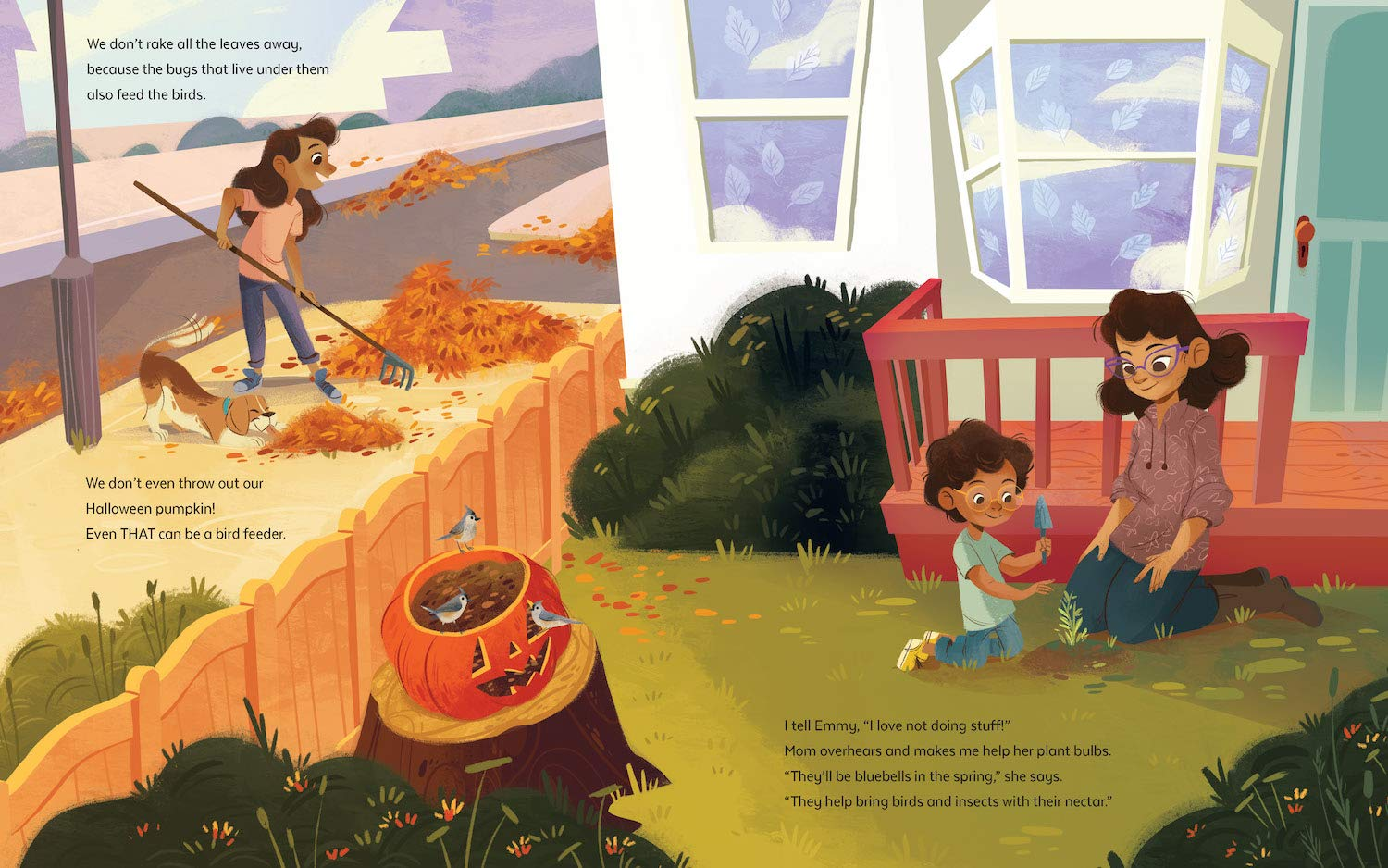 celebrate-picture-books-picture-book-review-a-garden-to-save-the-birds-raking