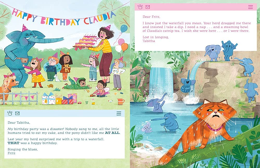 celebrate-picture-books-picture-book-review-tabitha-and-fritz-trade-places-party