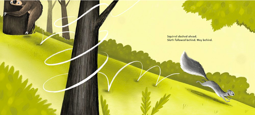 celebrate-picture-books-picture-book-review-sloth-and-squirrel-in-a-pickle-bounding