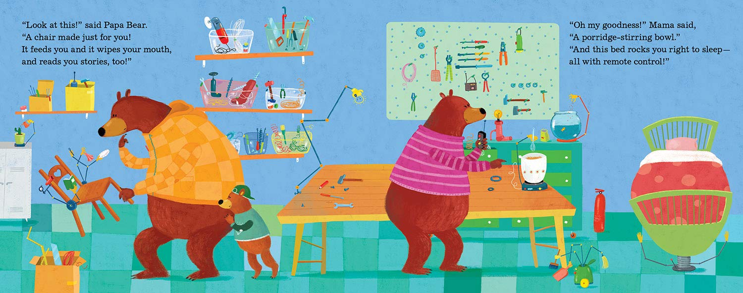 celebrate-picture-books-picture-book-review-goldilocks-and-the-three-engineers-workshop