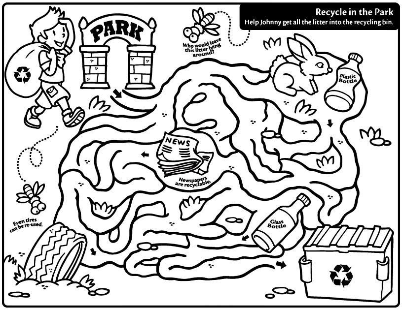 celebrate-picture-books-picture-book-review-recycling-maze