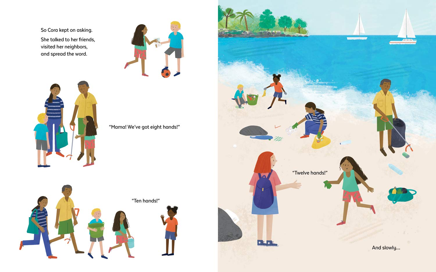 celebrate-picture-books-picture-book-review-the-big-beach-cleanup-twelve-hands