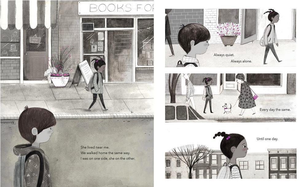 celebrate-picture-books-picture-book-review-the-color-collector-walking