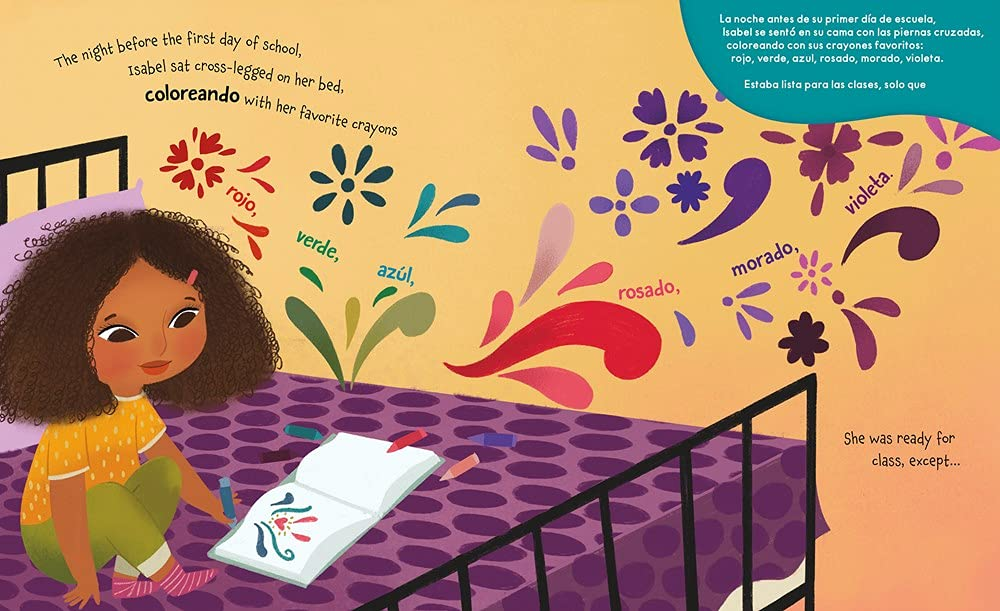 celebrate-picture-books-picture-book-review-isabel-and-her-colores-go-to-school-coloreando