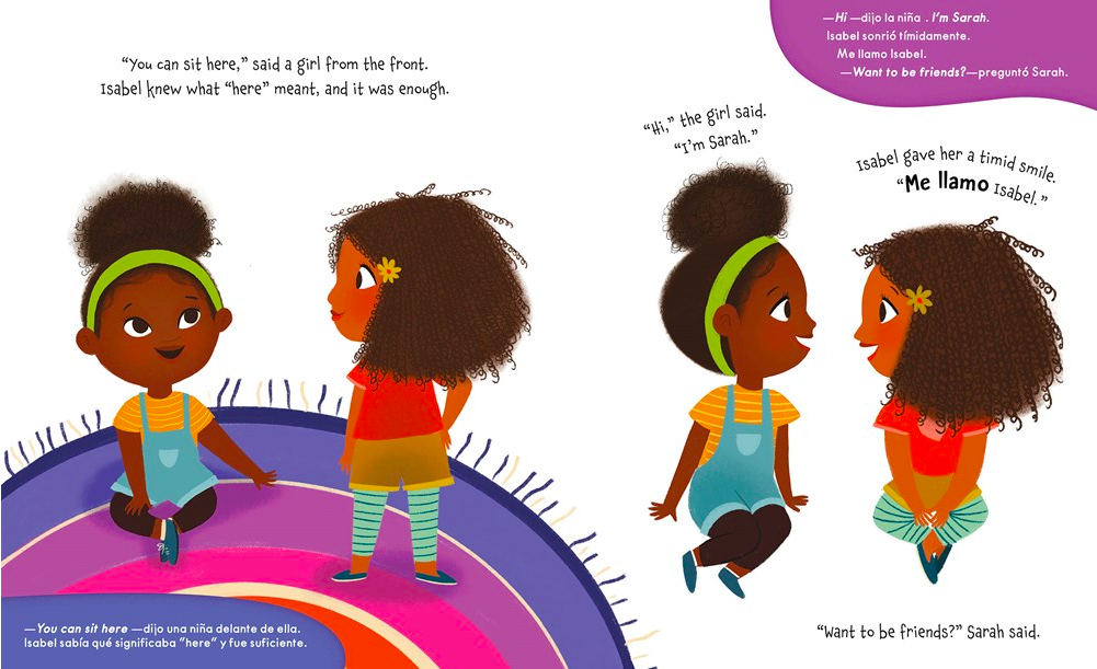 celebrate-picture-books-picture-book-review-isabel-and-her-colores-go-to-school-Sarah