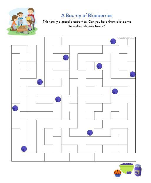 celebrate-picture-books-picture-book-review-blueberry-maze