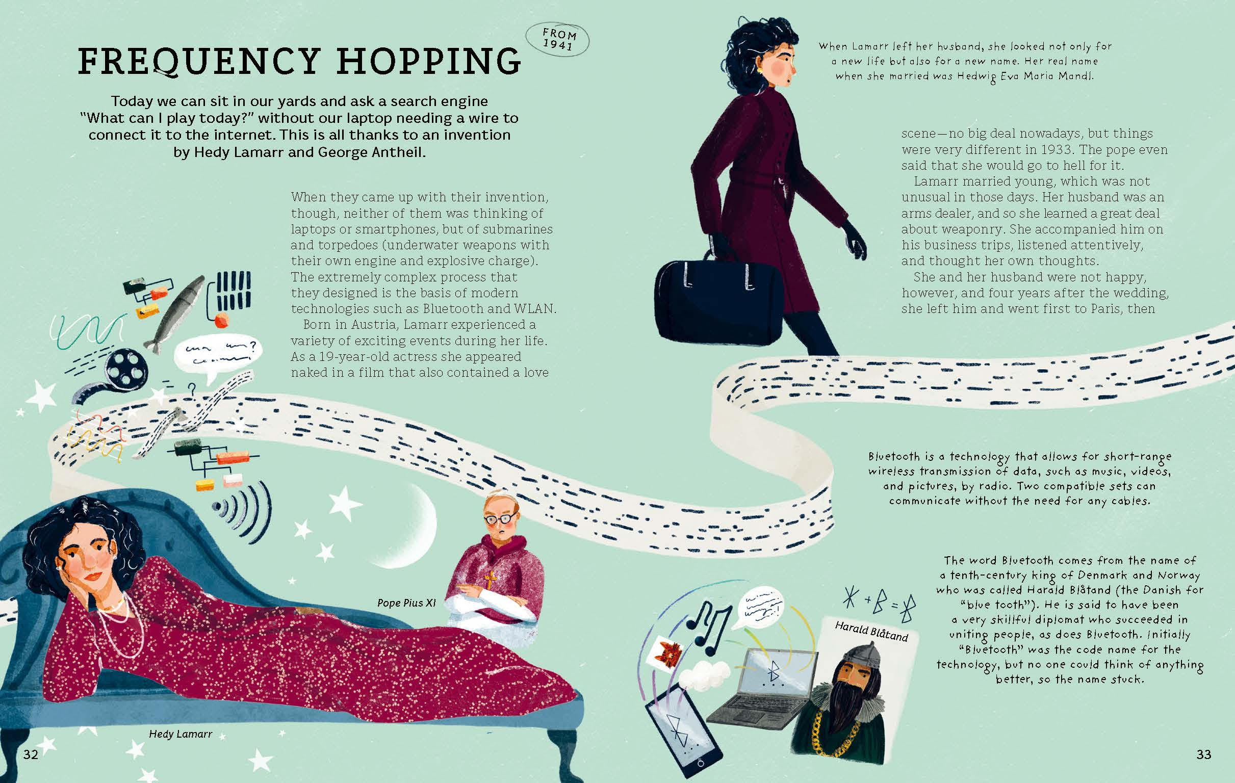 celebrate-picture-books-picture-book-review-who-invented-this-frequency-hopping