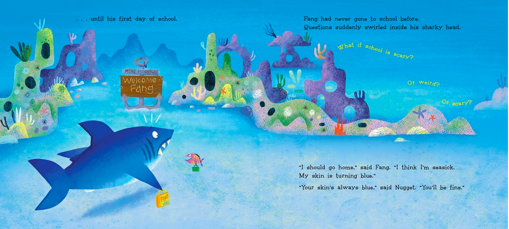 celebrate-picture-books-picture-book-review-nugget-and-fang-go-to-school-first-day