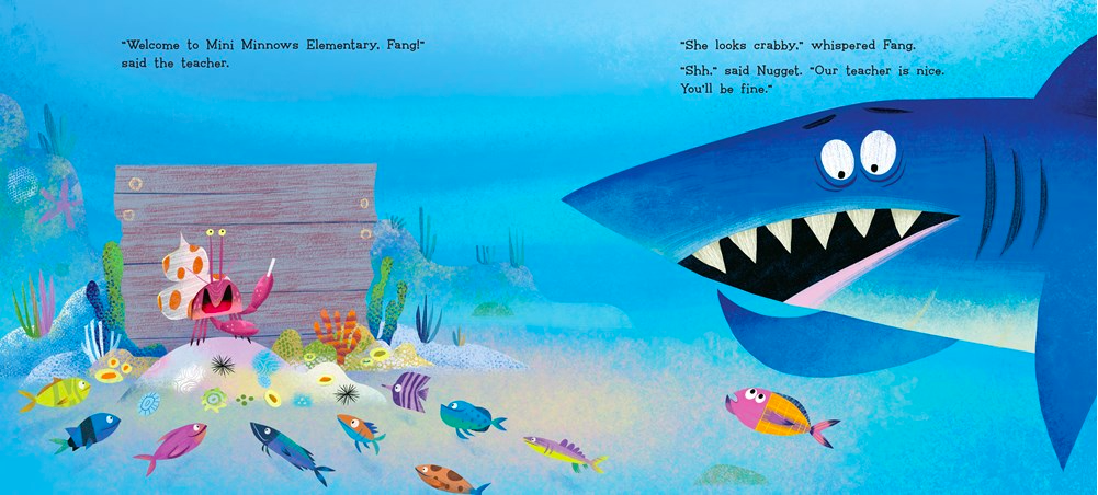 celebrate-picture-books-picture-book-review-nugget-and-fang-go-to-school-teacher
